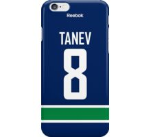 Vancouver Canucks Chris Tanev Jersey Back Phone Case iPhone Case/Skin