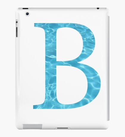 Beta-Water iPad Case/Skin
