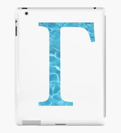Gamma-Water iPad Case/Skin