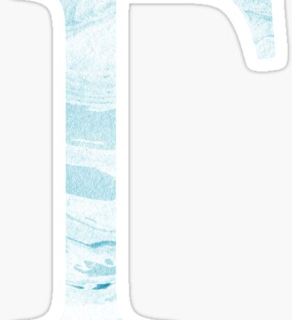 Gamma-Marble Blue Sticker