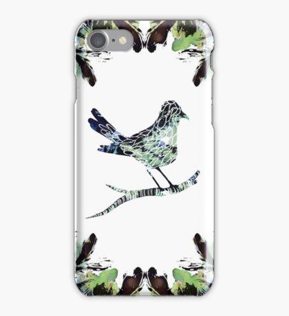 Wildlings Series - Little Bird Blue iPhone Case/Skin