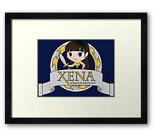 XENA the Warrior Princess Framed Print