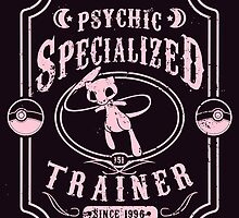 Psychic Specialized Trainer by tiranocyrus