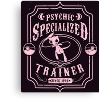 Psychic Specialized Trainer Canvas Print