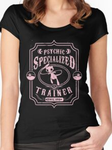 Psychic Specialized Trainer Women's Fitted Scoop T-Shirt