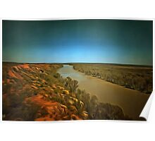 Murray River Poster