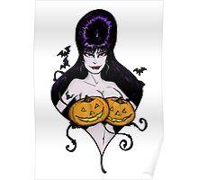 Mistress's Big Pumpkins Poster