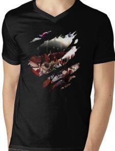Eren Anime Shirt Mens V-Neck T-Shirt