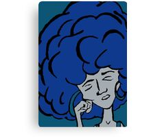 Monday Blues Canvas Print