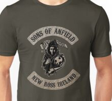 Sons of Anfield - New Ross Ireland Unisex T-Shirt