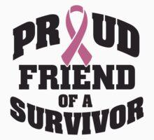Proud friend of a survivor Kids Clothes