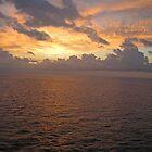 Sunrise at Sea  by John  Kapusta