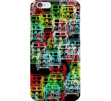 Multi Colour Campervan iPhone Case/Skin