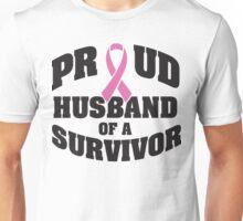 Proud husband of a survivor Unisex T-Shirt