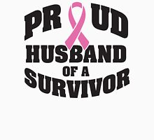 Proud husband of a survivor Unisex T-Shirt
