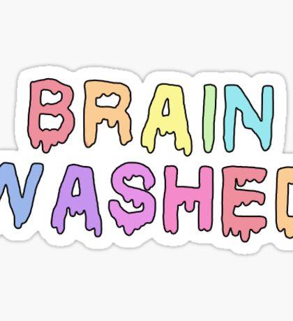Brain washed Sticker