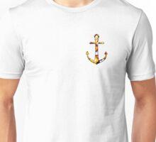 Anchor with Maryland Flag Camo Unisex T-Shirt