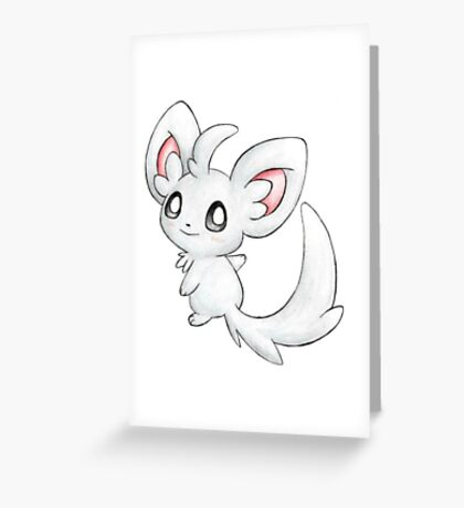 Pokemon -Minccino Greeting Card