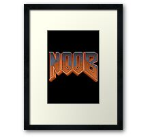 NOOB Framed Print