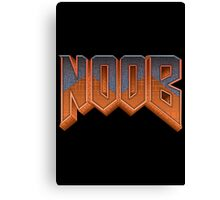 NOOB Canvas Print