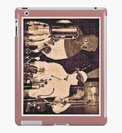 Don't Try This At Home c. 1940 iPad Case/Skin