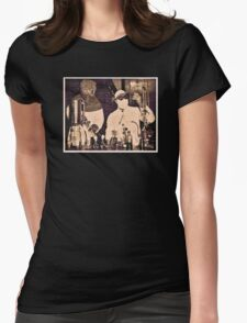 Don't Try This At Home c. 1940 Womens Fitted T-Shirt