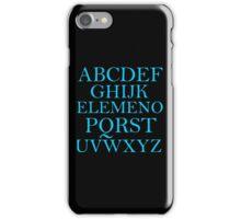 ALPHABET SONG iPhone Case/Skin