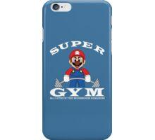 Super Gym iPhone Case/Skin