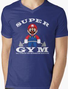 Super Gym Mens V-Neck T-Shirt