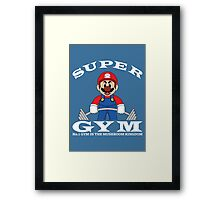 Super Gym Framed Print