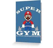 Super Gym Greeting Card
