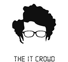 THE IT CROWD + NAME Photographic Print