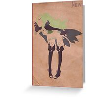 Nowi Greeting Card