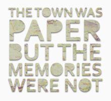 The Town Was Paper Alt T-Shirt