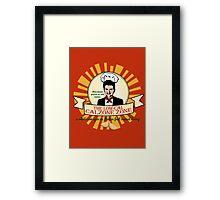 Pizza is Old News Framed Print