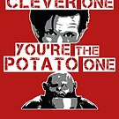 Doctor Who clever potato (poster) by Bloodysender