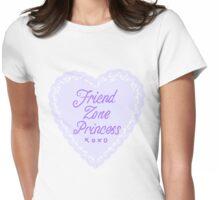 ~ friendzone princess ~ Womens Fitted T-Shirt