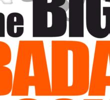 the BIG BADA BOOM theory Sticker