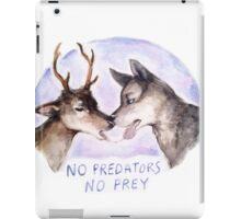 NO PREDATORS NO PREY iPad Case/Skin