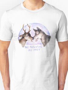 NO PREDATORS NO PREY Unisex T-Shirt
