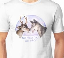 NO PREDATORS NO PREY Unisex T-Shirt