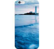 Saint Mary's Lighthouse at Whitley Bay iPhone Case/Skin
