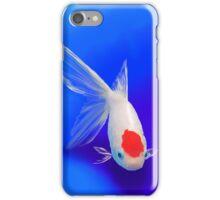 Blue comet iPhone Case/Skin