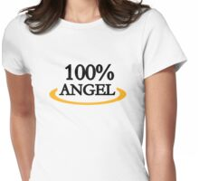 100% Angel Womens Fitted T-Shirt