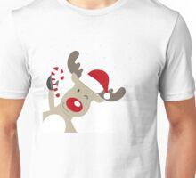 Merry Chrismas Reindeer Ugly Sweater Xmas  Unisex T-Shirt