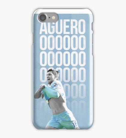 Sergio Aguero iPhone Case/Skin