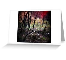 Once upon a time in the forest Greeting Card