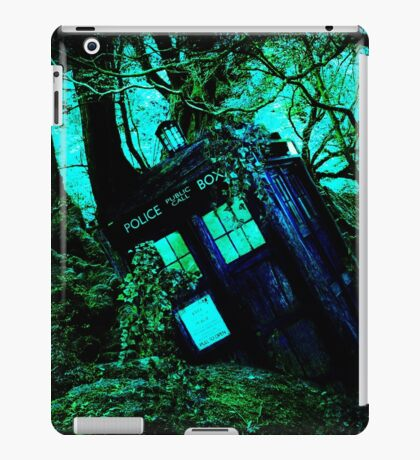 tardis-chested in the woods iPad Case/Skin