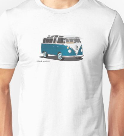 VW Bus T2 Turkis Hippie Van Unisex T-Shirt