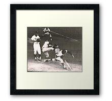 Sandy Koufax Wind-Up Framed Print